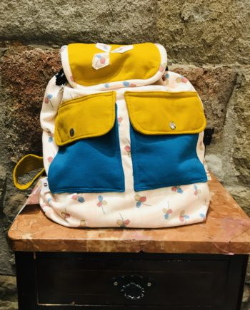 Mochila Mujer flores