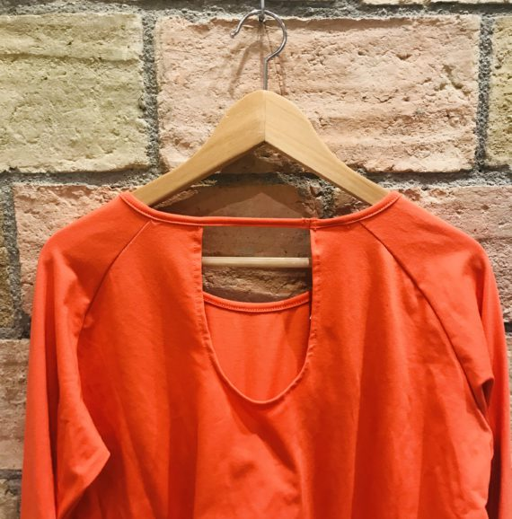 Color Coral Camiseta Mujer